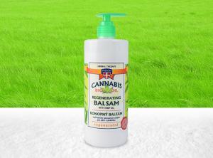 Palacio – Cannabis Balsam mit 8% BIO Hanföl 500 ml | 500 ml <br> Hanf Creme