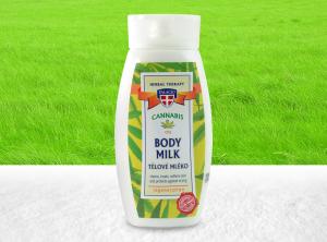 Palacio – Cannabis-Körpermilch mit <2% BIO Hanföl 250ml | 250
