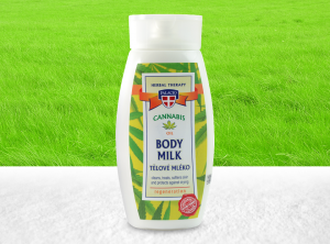 Palacio – Cannabis-Körpermilch mit BIO Hanföl 250ml | 250 ml