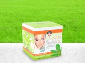 Palacio – Gesichtscreme Crystal Jar 12% Cannabis BIO Öl 50ml | 50 ml <br> Hanf Creme