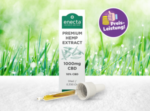 Enecta – CBD Oil 10% | 10 ml  CBD Öl, 1000 mg CBD