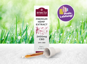 Enecta – CBD Oil 24% | 10 ml  CBD Öl, 2400 mg CBD