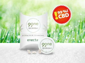 Enecta – 99One CBD Crystals | 1 g  CBD Crystals, 1000 mg CBD