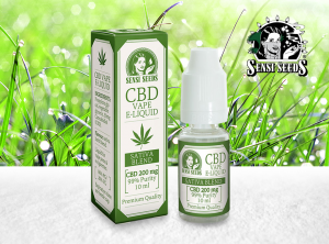Sensi Seeds – CBD Liquid | 10 ml <br> CBD E-Liquid, 200 mg CBD