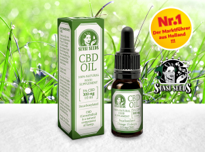 Sensi Seeds – CBD Oil 3% | 10 ml <br>CBD Öl, 275 mg CBD