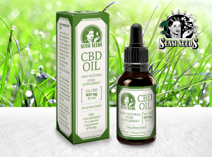 Sensi Seeds – CBD Oil 3% | 30 ml <br> CBD Öl, 825 mg CBD