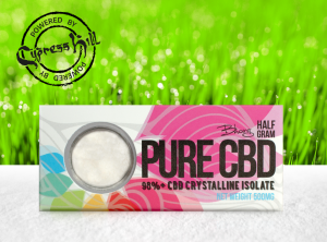 bhang – Pure Crystalline Isolate | 500 mg <br>CBD Crystals, 500 mg CBD