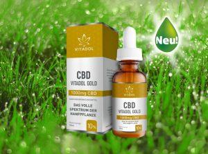 Vitadol – CBD Öl Vitadol Gold 10% | 10 ml <br> CBD Öl, 1000 mg CBD