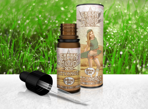 XEO – Green Mood 10 ml Full Range Lemon Haze 600 | 10 ml <br> CBD E-Liquid, 600 mg CBD