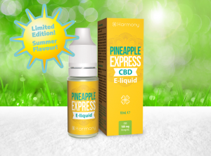 Harmony – Pineapple Express  <br> CBD E-Liquid