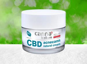 Palacio – Cannabellum CBD  Acnecann natürliche Creme 50ml | 50 ml  CBD Creme