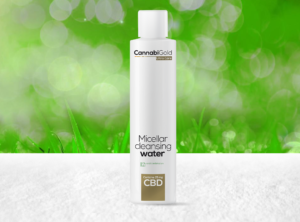 CannabiGold – Ultra Care Micellar Cleansing water | 200 ml <br>CBD Creme, 25 mg CBD