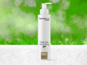 CannabiGold – Ultra Care Delicate Cleansing Gel  | 200 ml <br>CBD Creme, 25 mg CBD