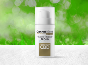 CannabiGold – Ultra Care Hydro-Repair Serum | 30 ml <br>CBD Creme, 150 mg CBD